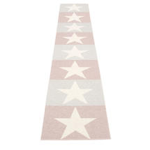 Viggo 70 X 400cm Pale Rose/Light Grey/Vanilla