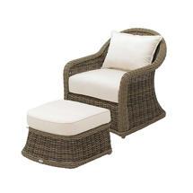 Havana Willow Deep Seating Armchair - Seagull
