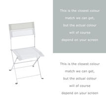 Latitude Chair - Cotton White/Steel Grey