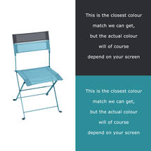 Latitude Chair - Turquoise/Anthracite