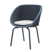 Peacock Chair - Midnight / Dusty Blue