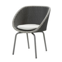 Peacock Chair - Grey / Light Grey