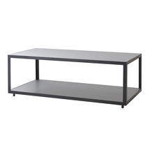 Large Coffee Table - Lava Grey with Grey Ceramic Tile