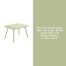 Luxembourg Kid Table - Willow Green