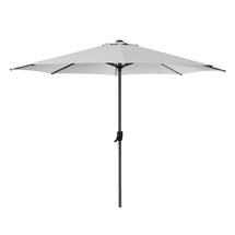 Shade 3m Round Parasol Crank System - Dusty White