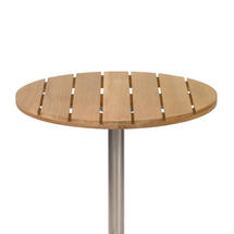 Antibes Teak 60cm Round Slatted Top
