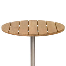 Antibes Teak 90cm Round Slatted Top