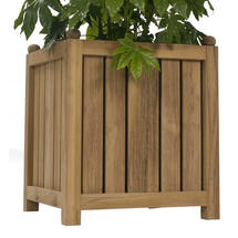 Citroen Teak Planter - Large