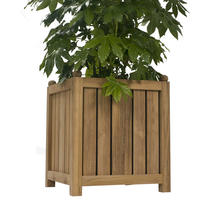 Citroen Teak Planter - Small