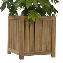 Citroen Teak Planter - Medium