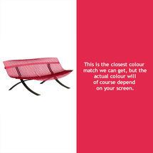 Charivari Bench Liquorice Frame - Pink Praline