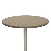 Orleon Woven 120cm Round Table Top with glass top - Kubu