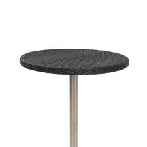 Orleon Woven 60cm Round Table Top - Slate