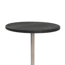 Orleon Woven 90cm Round Table Top - Slate