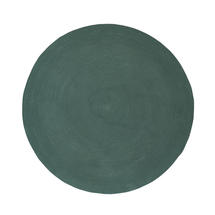 Infinity Round Rug - 140cm - Green