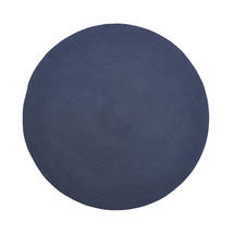 Infinity outdoor carpet, dia. 140 cm  - Blue
