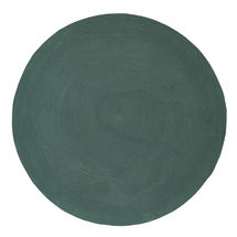 Infinity Round Rug - 200cm - Green