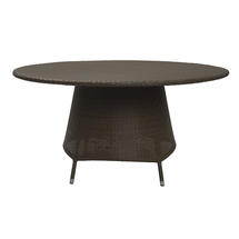Tarn 150cm Round Dining Table with Parasol Hole - Summergrass