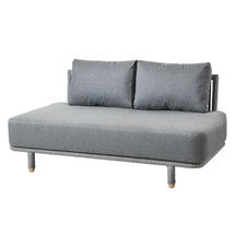Moments 2 Seater Sofa Centre Unit - Grey