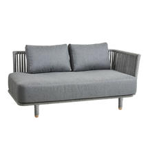 Moments 2-seater sofa left module - Grey