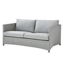 Diamond 2 Seat Sofa - Light grey