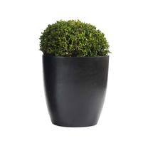Cone Black Planter Medium