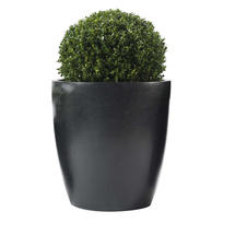 Cone Black Planter  Large