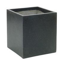 Cube Planter 45cm - Black