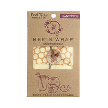 Bee's Wrap Sandwich Honeycomb Design Wrap