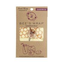 Bee's Wrap Sandwich Honeycomb Design Wrap