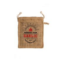 Jute Storage Bag for Garlic