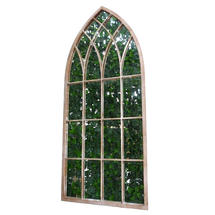 Gothic Outdoor Stone Mirror
