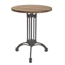 Pigalle Table Base 3 Legs - Clay