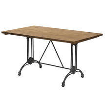 Pigalle Large Table Base 4 Legs - Dark Grey