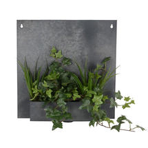 Zinc Plaque Wall Planter