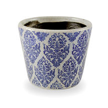 Old Delft Styled Pot - Diamond