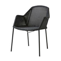 Breeze Dining Armchair Stackable - Black