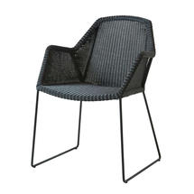 Breeze Dining Armchair - Black
