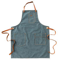 Blue Denim Apron - Denim