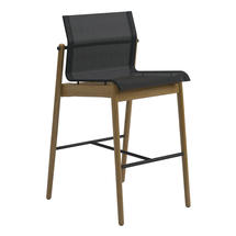 Sway Bar Chair Buffed Teak - Meteor/Anthracite