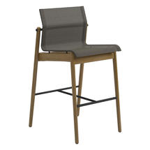 Sway Bar Chair Buffed Teak - Meteor/Granite