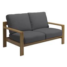 Loop 2 Seater Sofa - Buffed Teak