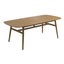 Clipper Table 98.5 x 219 cm - Buffed Teak