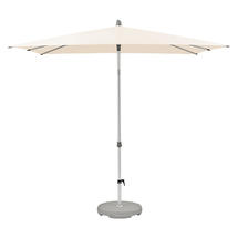 2 x 2m AluSmart Parasol with Centre Pole - Deluxe