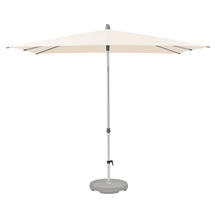 2.4 x 2.4m AluSmart Parasol with Centre Pole - Deluxe