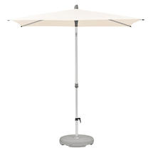 2.1 x 1.5m AluSmart Parasol with Centre Pole - Deluxe