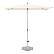 2.5 x 2m AluSmart Parasol with Centre Pole - Deluxe