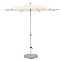 2.2m Round AluSmart Parasol with Centre Pole - Deluxe