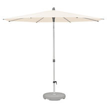 2.5m Round AluSmart  Parasol with Centre Pole - Deluxe