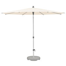 3m Round AluSmart Parasol with Centre Pole - Deluxe